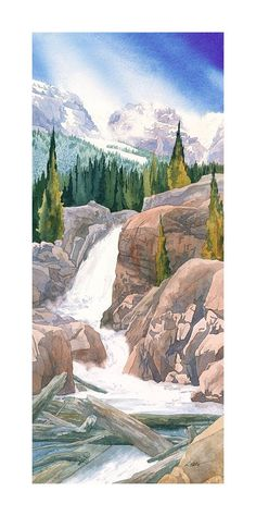 Alberta Falls by Gary Spetz