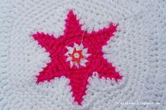 gehäkelter Stern ~ crochet star
