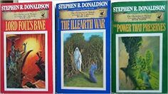 The Chronicles of Thomas Covenant The Unbeliever Series (3 Vol. Set; Lord Foul's Bane; The Illearth War; the Power That Preserves): Stephen R. Donaldson: Amazon.com: Books
