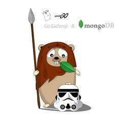Задача: приспособить персонажа Golang к стилистике Star Wars и совместить его с MongoDB, PostgreSQL, MySQL, GNU, Android.