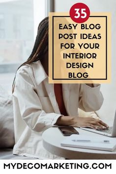 Are you stuck for ideas for your interior design blog? How would you like 35 instant ideas from an experienced interiors blogger that you can write about today #interiordesign #interiorsblog #mydecomarketing Interior Blogs, Best Interior, Luxury Interior, Interior Inspiration, What To Write About, Interior Design Business, Design Blogs, Content Marketing Strategy, Decorating Blogs