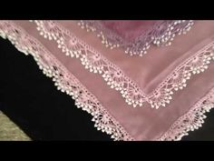 Namaz Örtüsü Mevlüt Örtüsü Veya Havlu Kenarında Uygulanabilinecek Kum Boncuk Oyası - YouTube Needle Tatting, Needle Lace, Crochet Borders, Crochet Stitches, Saree Kuchu Designs, Crochet Videos, Crafty, Embroidery, Pattern