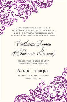 Rococo Violet Invita