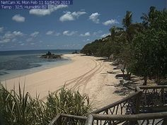 Webcam | Castaway Island, Fiji | Fiji Resorts | Fiji Holidays #stardot