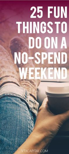 25 Fun Things To Do With No Money on a No Spend Weekend - Finance tips, saving money, budgeting planner Ways To Save Money, Money Tips, Money Saving Tips, Saving Ideas, No Spend Challenge, Money Saving Challenge, Weekender, Frugal Living Tips, Dave Ramsey