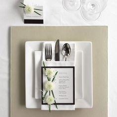 Ideas for wedding planner card place settings Wedding Napkins, Wedding Menu, Wedding Table, Wedding Reception, Card Wedding, Wedding Ideas, Wedding Seating, Destination Wedding, Dream Wedding