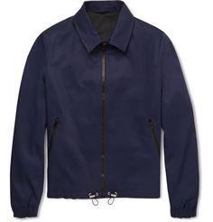 9dc13657fac AMI Gabardine Jacket Mr Porter