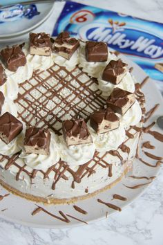 No-Bake Milky Way Cheesecake! - Jane's Patisserie