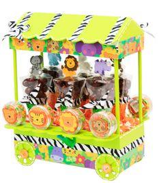 Despachador de dulces. Manualidades para fiestas infantiles