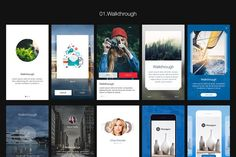 Hexagon iOS 8 Mobile UI Kit is a tool designed to help you create design apps and prototypes faster and easier than ever. With tons of UI component and elements, greatly assembled and with