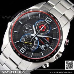 Casio Edifice Red Bull Racing Limited Edition Sport Watch EFR-528RB-1A, EFR528RB