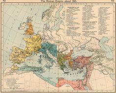 mapa império romano - Pesquisa Google
