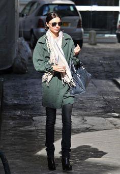 Miranda Kerr street style...this girl can do no wrong