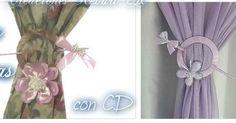 DIY decorativos: Sujeta las cortinas con CDs reciclados