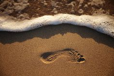 Footprint in St. Lucia by Simon Tong