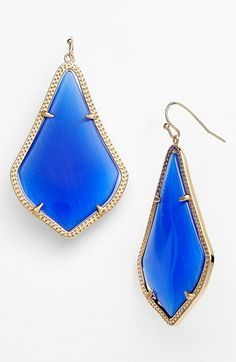 Kendra Scott 'Alexandra' Large Drop Earrings available at #Nordstrom