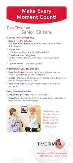 Time Timer Tips for Seniors!