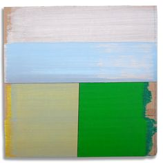 Hans Gerritsen — Karton_serie_02 - Abstract Dutch landscape painting on cardboard, Holland, Groningen, cardboard