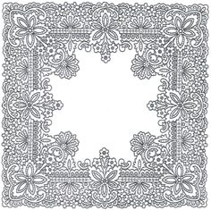 """ru / GWD - Альбом """"Richelieu scheme I"""" Cutwork Embroidery, Embroidery Patterns, Colouring Pages, Adult Coloring Pages, Molduras Vintage, Parchment Craft, Stencil Templates, Doodle Designs, Card Patterns"""
