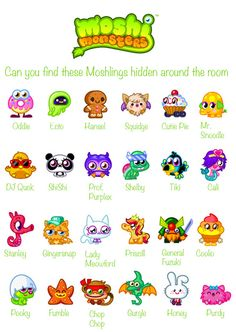 Snowballs in Summer: Moshi Monster 6th birthday party
