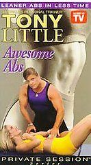 NEW SEALED Tony Little - Awesome Abs VHS 1995 Private Sessions Series