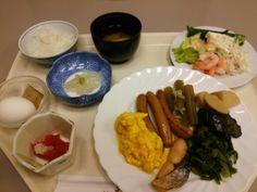 ホテル花いさわ@石和温泉。朝食バイキング。お気に入りのボリューミーモーニング。