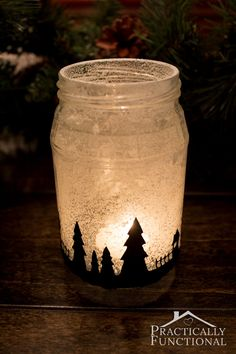 Beautiful Christmas candle displays - diychristmasdecorations.net