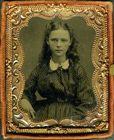 Girl. Between 1860 and 1870.