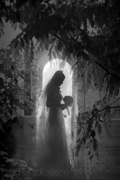 #BarbaraDiCretico #bride #bw #wedding #italy