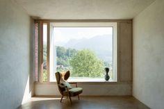 Lehmkaseinbeschichtung   Lehm Ton Erde, Martin Rauch, Vorarlberg
