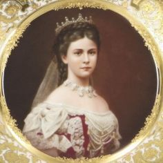 Elizabeth of Austria. Hungarian Coronation Portrait.