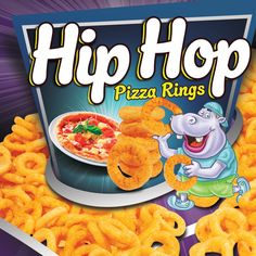 Hip Hop Corn Puffs Packaging on Behance Corn Puffs, Frosted Flakes, Cereal, Hip Hop, Pizza, Packaging, Behance, Mood, Breakfast