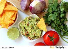 Avokádové quacamole recept - TopRecepty.cz Pesto, Mango, Mexican, Vegan, Cooking, Ethnic Recipes, Fitness, Instagram, Food
