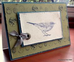 Stampin' up demonstrator Kelly's Craftin' Corner: Nature Walk