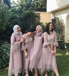 Dress Brokat Muslim, Dress Brokat Modern, Kebaya Muslim, Kebaya Modern Hijab, Model Kebaya Modern, Kebaya Hijab, Hijab Gown, Hijab Dress Party, Turban Hijab