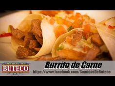 comidas de Buteco #8 Como fazer Burritos - YouTube