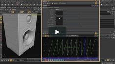 This video will show how to simulate the look of a vibrating speaker diaphragm by using Motion FX inside Houdini. We use a lattice to isolate and move the speaker…