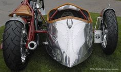 Jesse James Airstream Chopper  Sidecar P.s. simple quest for everyone) Why did Bill die?