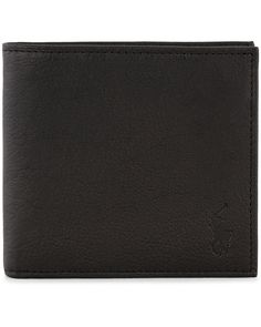 Polo Ralph Lauren Billfold Wallet Black  i gruppen Accessoarer / Plånböcker hos Care of Carl (11018210)