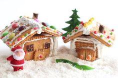 No-Bake Gingerbread Houses – Edible Crafts