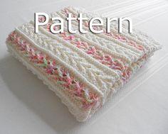 Avalon Baby Blanket Crochet Pattern - Instant Download - $7.50