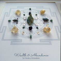 Bird Watcher Reveals Controversial Missing Link You NEED To Know To Manifest The Life You've Always Dreamed Crystal Mandala, Citrine Crystal, Crystal Grid, Crystals For Manifestation, Healing Crystals, Healing Stones, Crystals For Wealth, Sri Yantra, Meditation Art