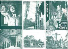Semana Santa 1960 Folleto de 3 h. plegadas, editado por la Junta Local de Festejos con el orden y horario de las procesiones