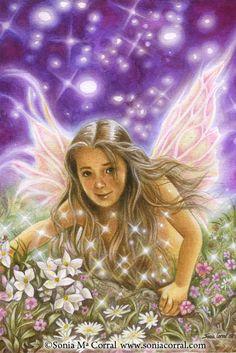 Auto-retrato fantasía  Tamaño A4 por SoniaCorralArt en Etsy