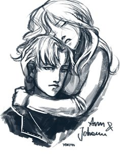 Anna and Johan by karbor