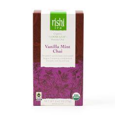 Rishi-Tea Vanilla Mint Chai - Large Box http://rishi-shop.co.kr :D