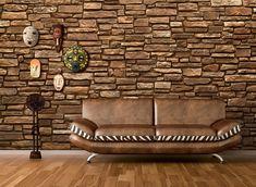 Wohnzimmer Wandgestaltung mit Verblendsteine Grand Canyon, Chair, Design, Diy, Furniture, Instagram, Home Decor, Wall Cladding, Tiles