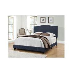 Jennifer Taylor David Dark Sapphire Blue King Upholstered Bed 52030 4 976 2 Upholstered Beds Blue Bedding Bedroom Furniture
