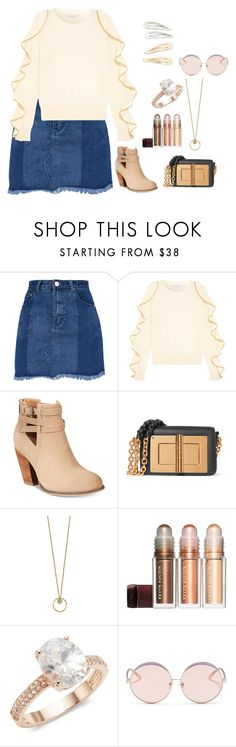 """""""Is It Friday Yet?"""" by agdancer10 ❤ liked on Polyvore featuring Philosophy di Lorenzo Serafini, Call it SPRING, Tom Ford, Saks Fifth Avenue, N°21 and Kitsch"""