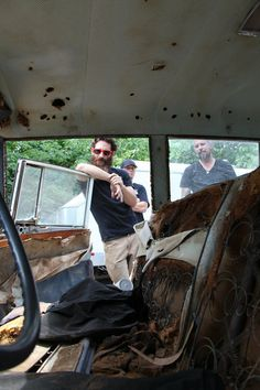 Aaron Kaufman...I love this show, and especially Aaron!!!
